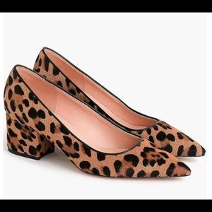 Leopard pumps size 9